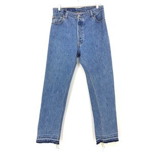 Levi's RE/Done Approx Sz 31 Straight Leg Jeans